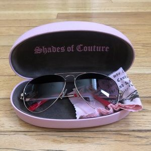 Juicy Couture Aviator Sunglasses!